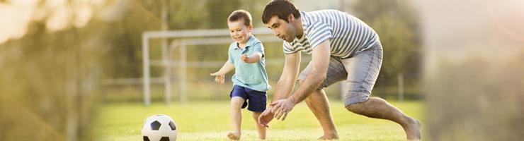 papá genial deporte