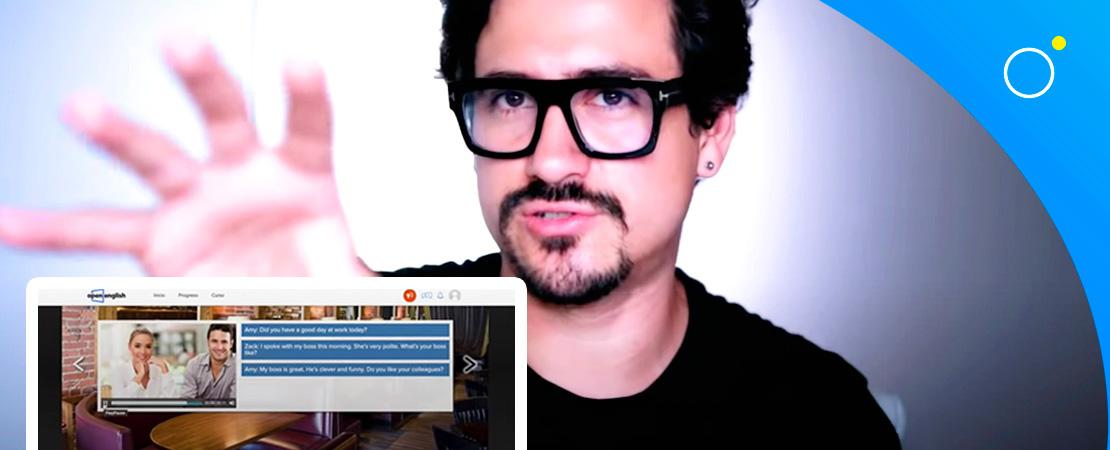 Opinión de Andres en Ingles sobre Open English