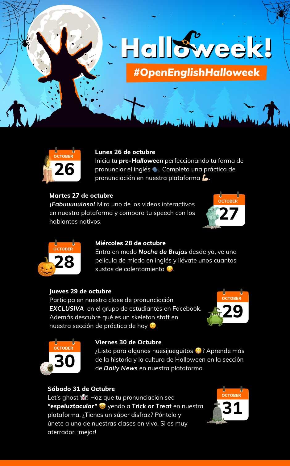Open English Halloween Challenge