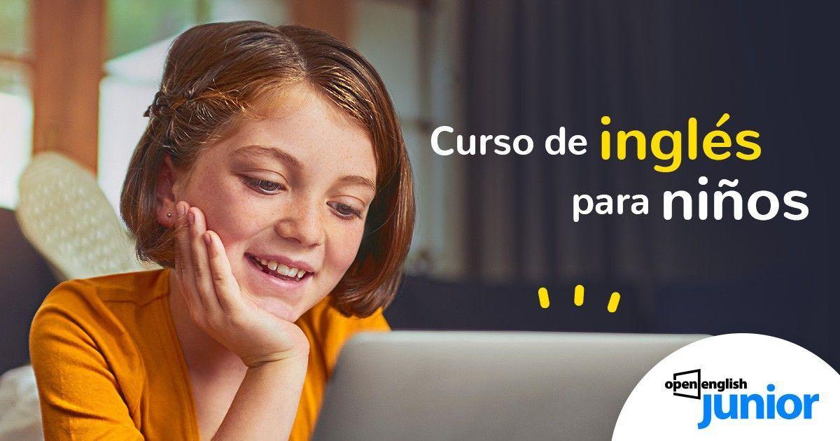 Curso De Ingles Para Ninos Online Open English Junior